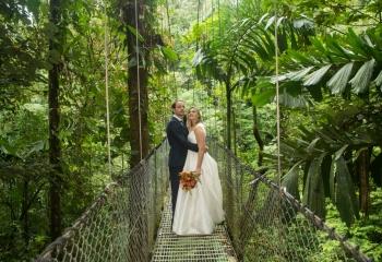 La Fortuna Arenal Wedding Elopement Planner Costa Rica Waterfall